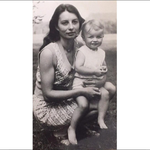 Katarzyna Sokołowska z mamą