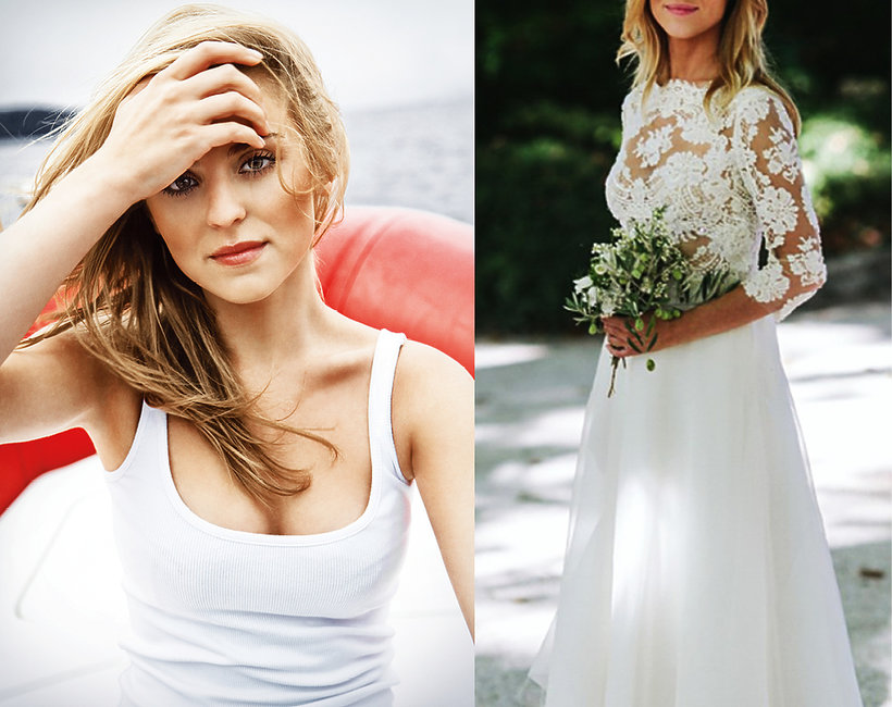 Katarzyna Tusk, suknia ślubna, VIVA!
