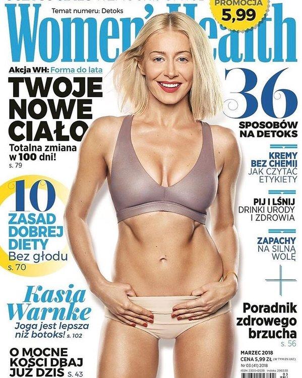 Katarzyna Warnke bez retuszu, Women's Health