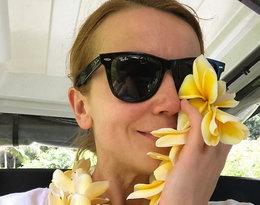 Katarzyna Zielińska przywitała wiosnę