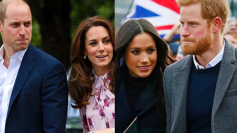 Kate i William, Harry i Meghan