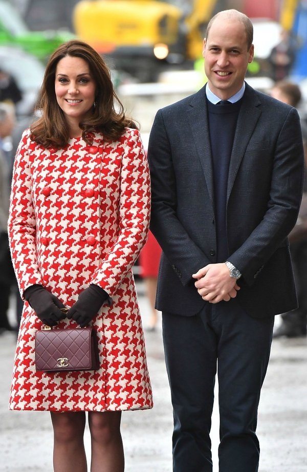 Kate i William w Szwecji