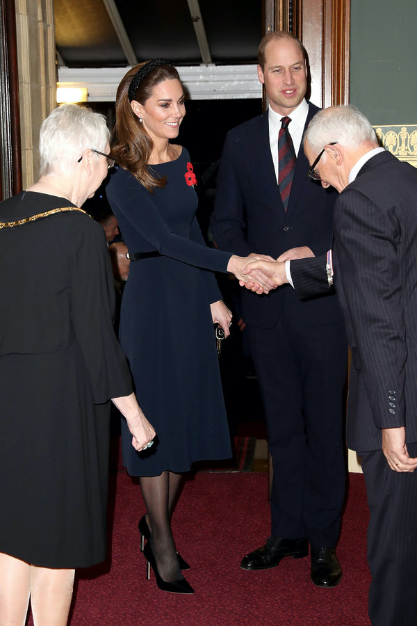 Kate Middleton, księżna Kate, Royal Albert Hall, listopad 2019