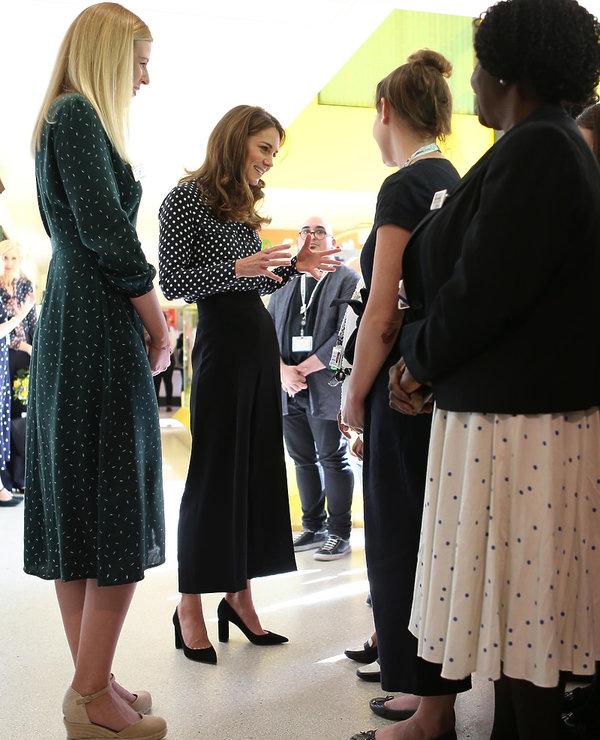 Kate Middleton w stylizacji z Zara 2019