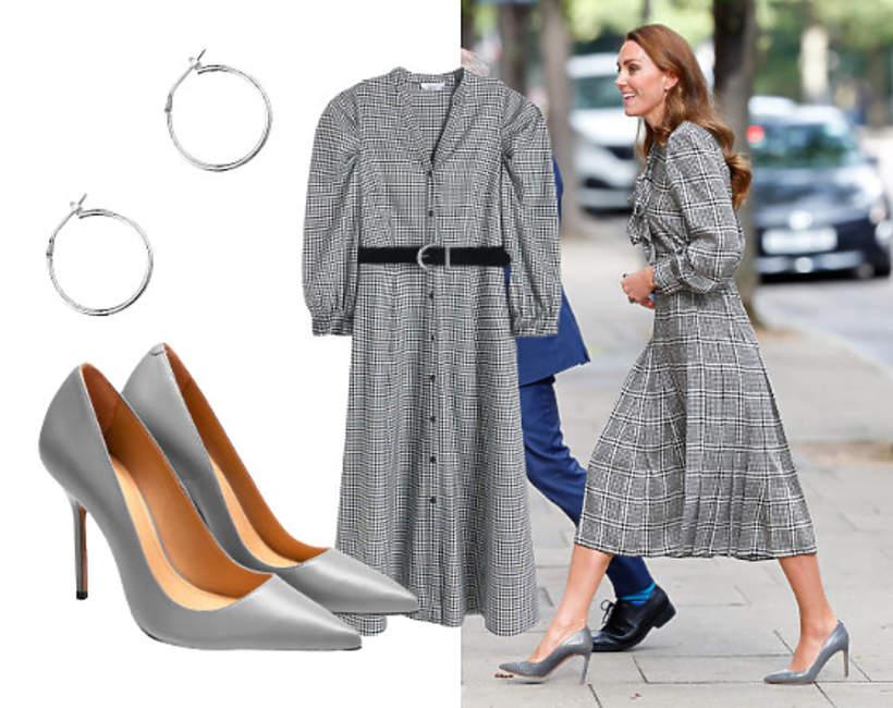Kate w sukience z sieciówki