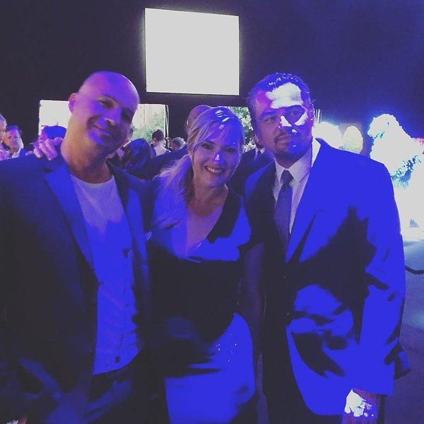 Kate Winslet,  Leonardo DiCaprio i Billy Zane