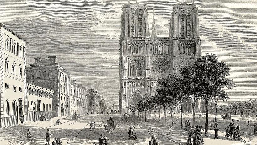 Katedra Notre Dame historia