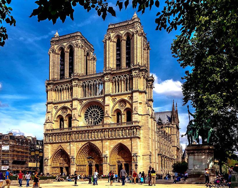 Katerda Notre Dame historia