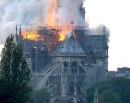 Płonie katedra Notre Dame w Paryżu!