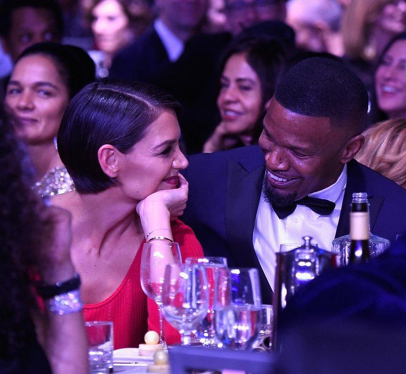 Katie Holmes i Jamie Foxx, Grammy 2018 HN