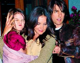 Suri Cruise chce odzyskać ojca?! Katie Holmes i Tom Cruise dojdą do porozumienia?
