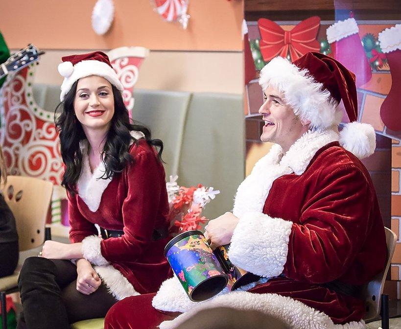 Katy Perry i Orlando Bloom GRUDZIEŃ 2016