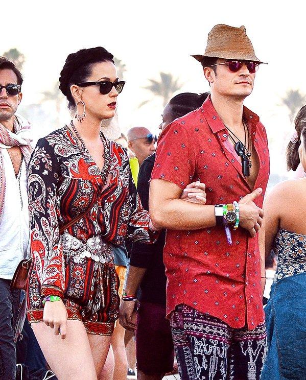 Katy Perry i Orlando Bloom KWIECIEŃ 2016