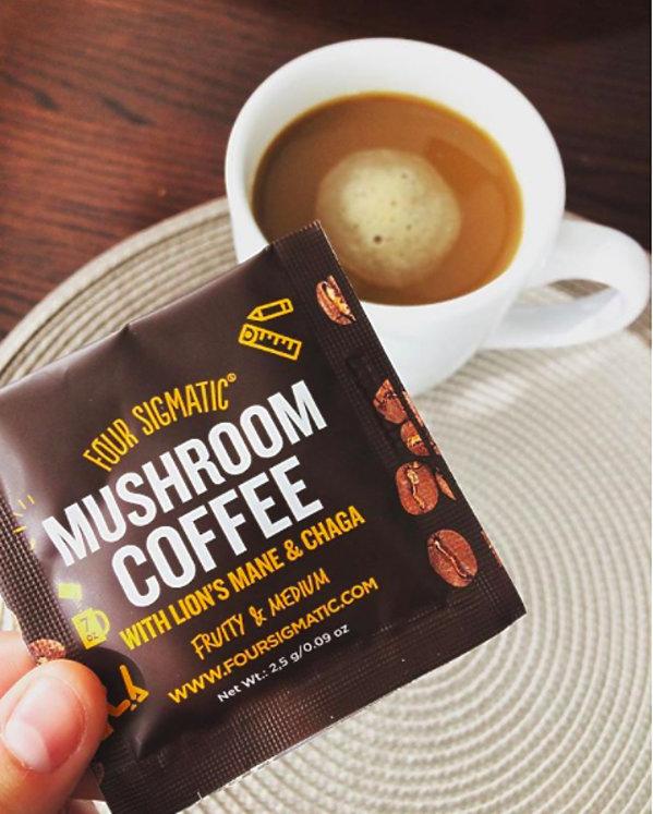 Kawa z grzybów