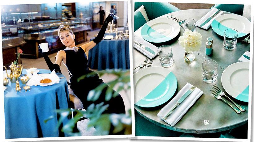Kawiarnia Blue Box Cafe. Audrey Hepburn