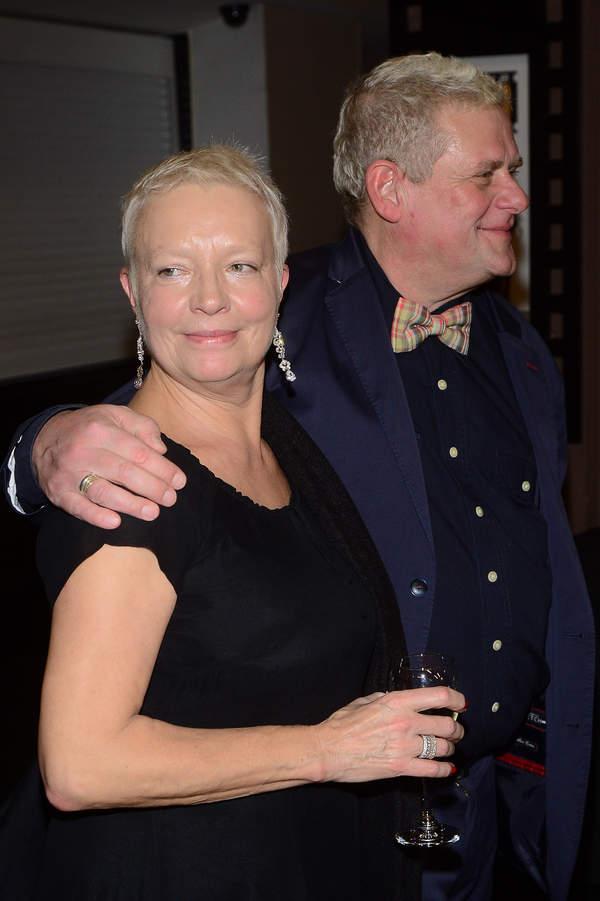 Kazik Staszewski z żoną, Anna Staszewska