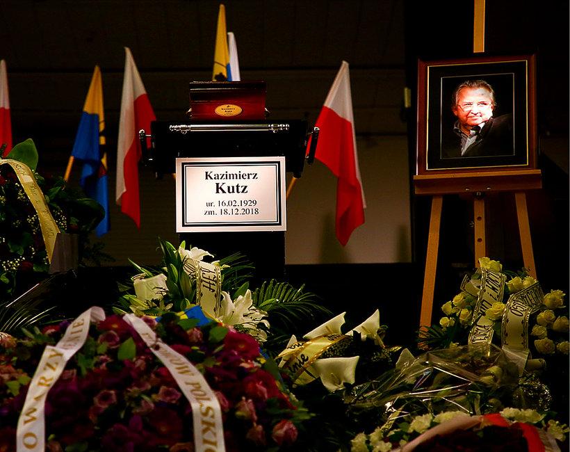 Kazimierz Kutz, pogrzeb