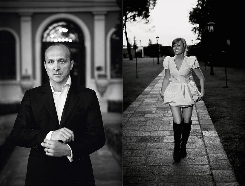 Kazimierz Marcinkiewicz i Izabela Olchowicz