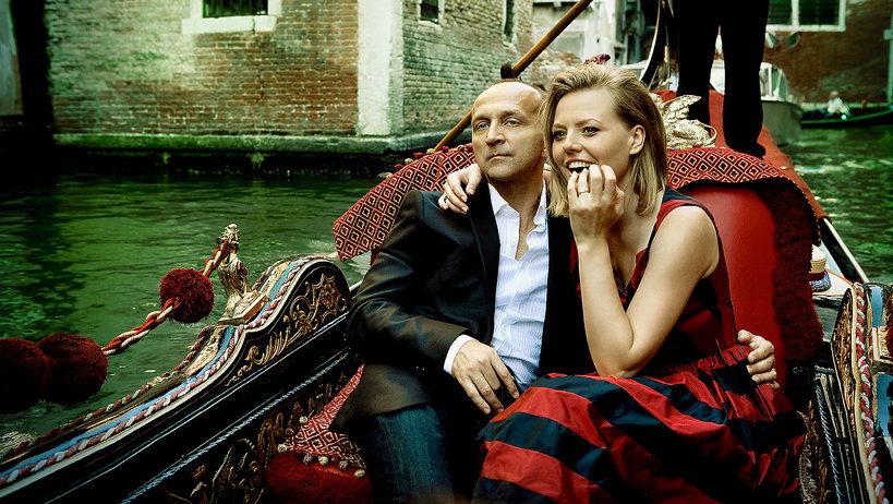 Kazimierz Marcinkiewicz i Izabela Olchowicz, VIVA! październik 2009