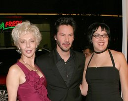 Keanu Reeves i Karina Miller
