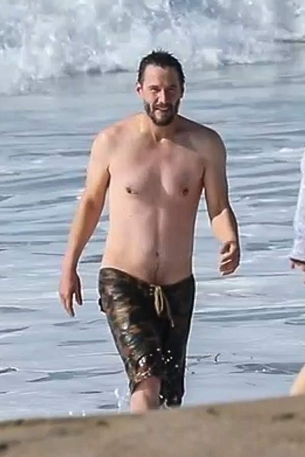 Keanu Reeves na plazy