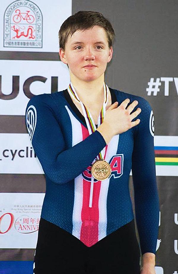 Kelly Catlin, sportsmenka