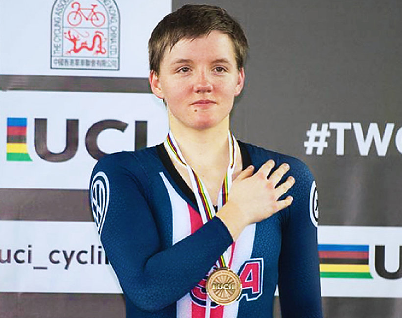 Kelly Catlin, sportsmenka