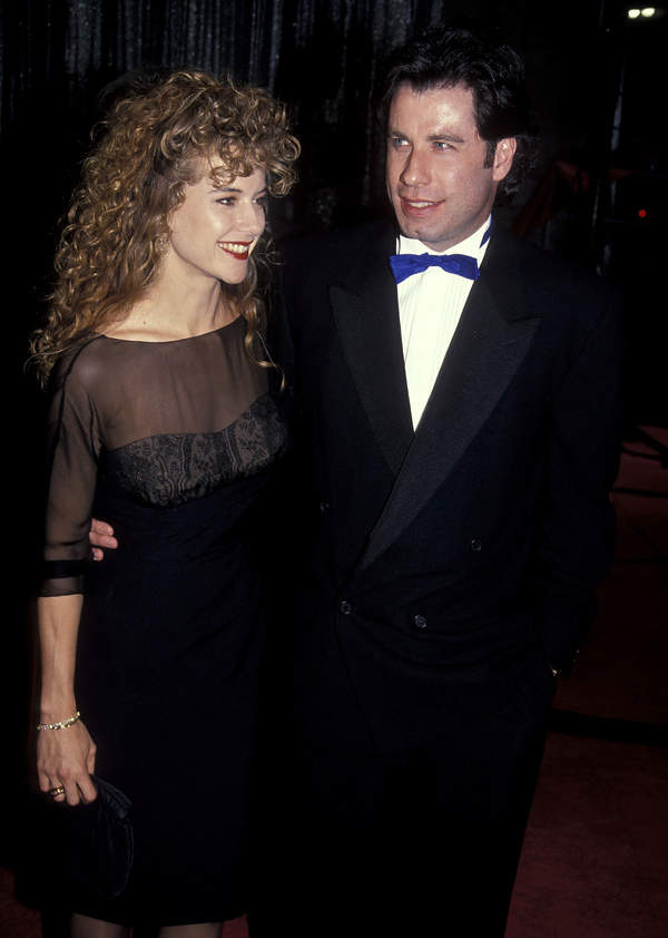 Kelly Preston i John travolta w 1991 roku.