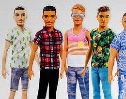 Chłopak Barbie, Ken, w końcu poddał się metamorfozie! Firma Mattel wprowadza na rynek 15 nowych lalek