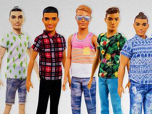 Ken nowe lalki