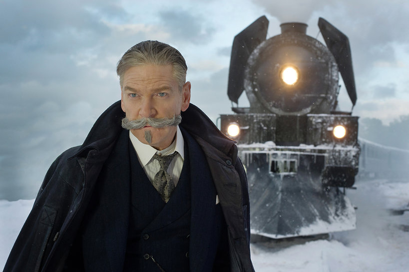 Kenneth Brannagh jako Hercules Poirot