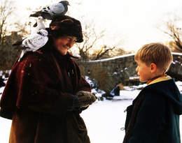 Smutne życie gołębiarki z filmu Kevin sam w Nowym Jorku. Los nie jest dla niej łaskawy