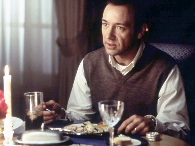 Kevin Spacey w filmie American Beaty
