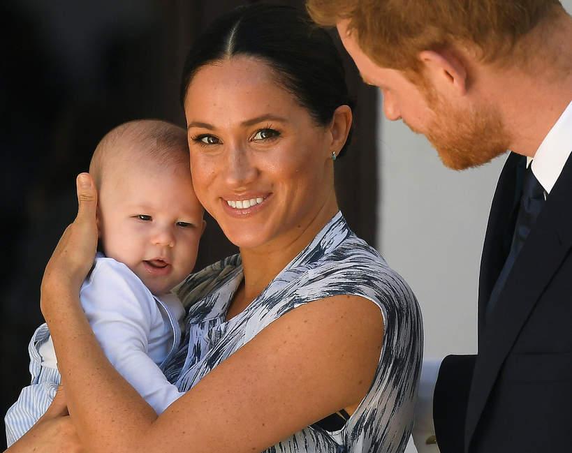 Kim będzie drugie dziecko Meghan i Harry'ego?