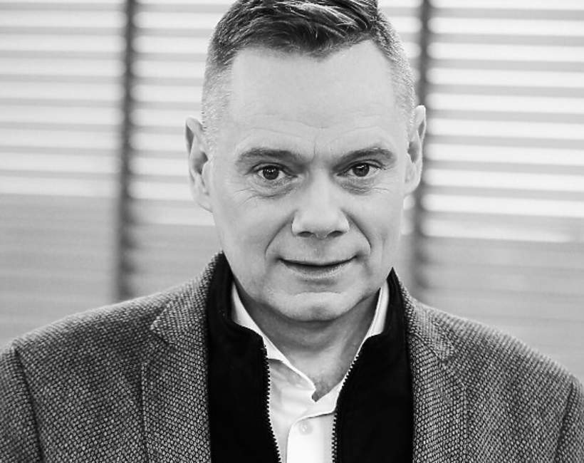 Kim był Rafał Poniatowski, dziennikarz walczył z chorobą
