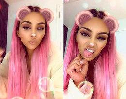 Kim Kardashian właśnie przefarbowała włosy na... różowo!