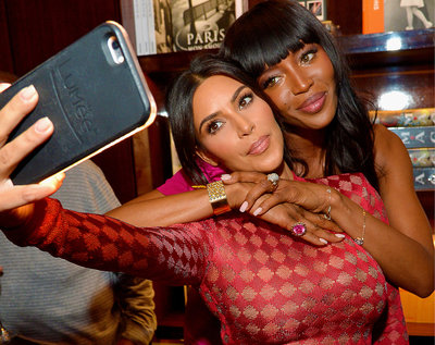 Kim Kardashian i Naomi Campbell