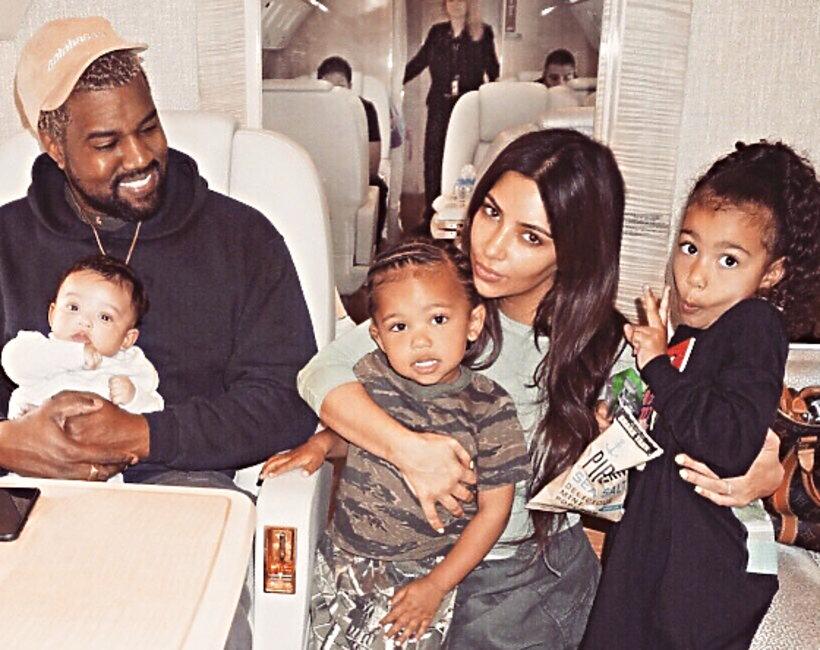 Kim Kardashian, Kanye West, dzieci Kim Kardashian