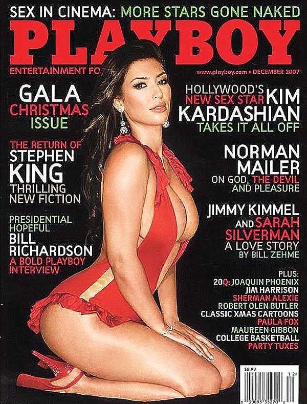 Kim Kardashian na okładce Playboya