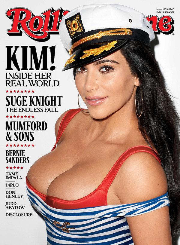 Kim Kardashian na okładce Rolling Stone