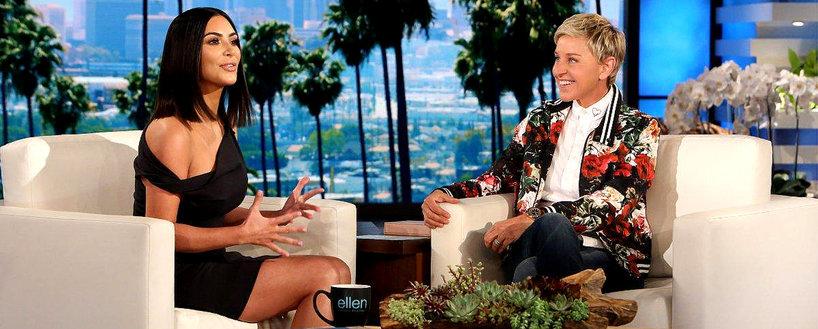 Kim Kardashian u Ellen DeGeneres