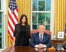 A to niespodzianka! Kim Kardashian spotkała się Donaldem Trumpem!