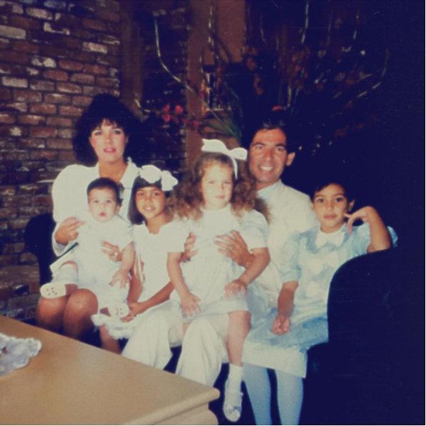 Kim Kardashian zdjęcia z dzieciństwa