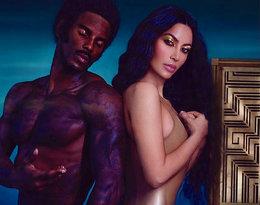 Naga pupa Kim Kardashian w najnowszej kampanii wzbudziła kontrowersje!