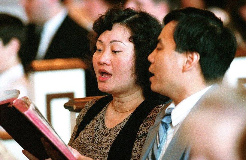 Kim Phúc i jej mąż Bui Huy Toan