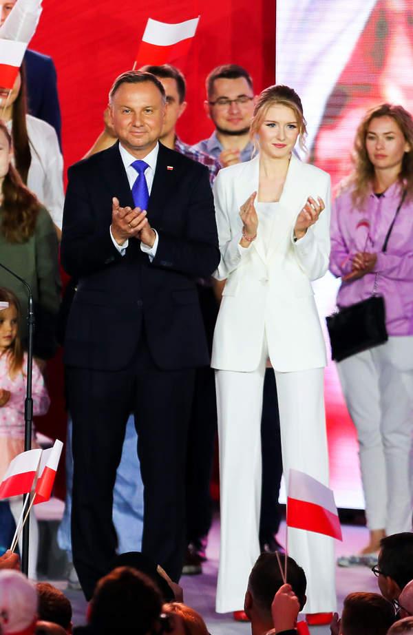 Kinga Duda, Andrzej Duda, Wybory 2020