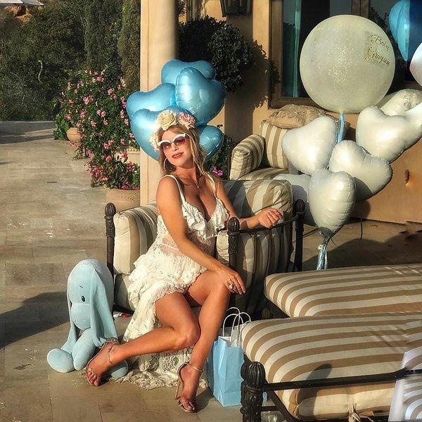 Kinga Korta, baby shower