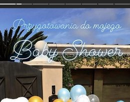 Kinga Korta, baby shower