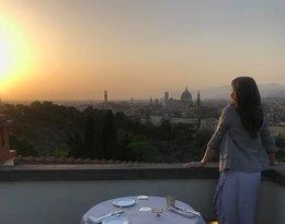 Kinga Rusin odpoczywa we Włoszech
