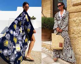 Kinga Rusin pokazała wakacyjne stylizacje! Koronkowe sukienki, efektowna biżuteria i bikini...